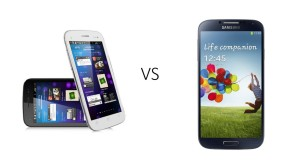 Micromax canvas 4 and Samsung galaxy 4